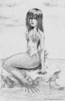 Spiny Mermaid by mseregon
