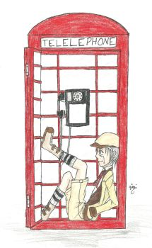 Phone Booth by caged-birds