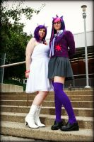 My Little Pony- Unicorn Sisters by Whimsical-Angel