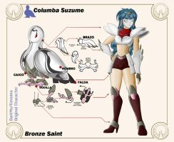 Columba Suzume 222 by DarkMu