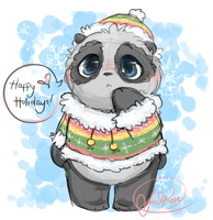 Happy Holidays! by Curly-Qs