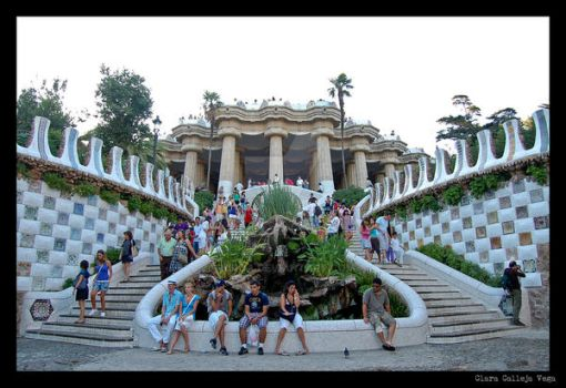 Parc Guell 4 by Kiroa