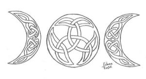 Celtic Moon Knots by LadyEdana