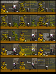Gift Comic for RuneVix - Spring-trapped by SpringlockedFoxy