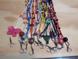 Some badge or key lanyards 2 by TinkersTreasury