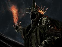 The Witch King of Angmar by Badtucker