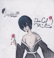 Contest Entry- Demon Ciel in a Kimono by RikaYoru