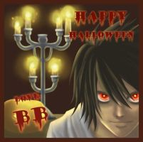 Happy Halloween -B- by Luvelia