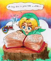 LOZ: Ages Of Pages by NatSilva