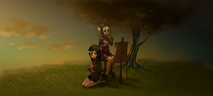 Request - Vivian and Iriselle by xamxam
