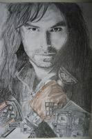 Kili from The Hobbit movie by Lienka32