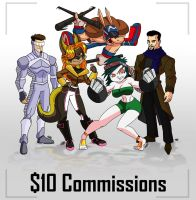$10 Commissions by AngelCrusher