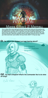 SPOILERS- Mass Effect 2 Meme by Nirrum