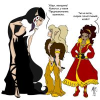 ElfQuest Humour 1 by oldxer