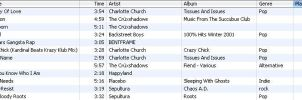 iPod Chart 16th August 2005 by abnormia