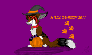 Halloween 2011 by RavingFoxie
