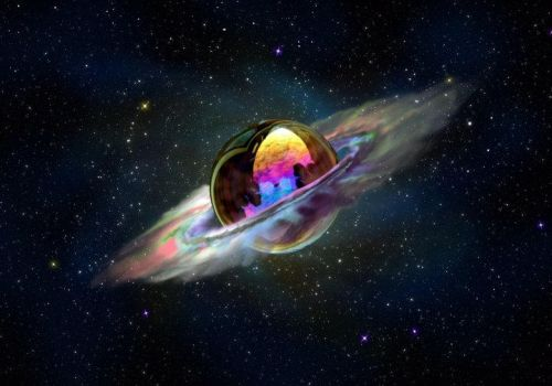 Planet Soap Bubble by ValleRogers