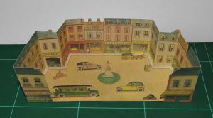 La Place - Vintage papercraft by SarienSpiderDroid