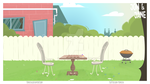 Garden animation background by trine110