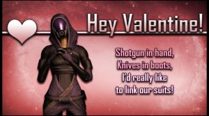 ME Valentine Tali by Lordess-Alicia