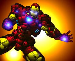 IRON MAN by Mjones456