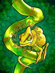 Crowned Chameleon by PaintMyWorldRainbow