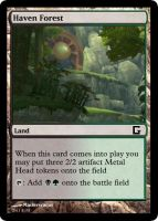 Haven Forrest Magic card by MasterEraqus