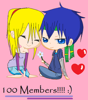 Ike x Samus -100 Members 8D- by Zero09Ike