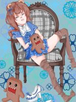 Domo-chan :The impress: color by ocecen