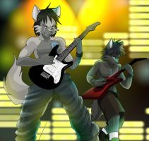 Metal Fest for FrenzyWolf by vixvargas