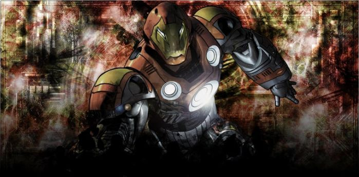 Ultimate Iron Man by Shadzx2