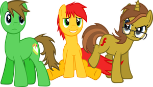 Three OCs by dashofrainbow235