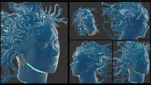 Water face by Celtilia