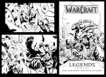 warcraft cover Inks by joverine