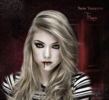 New vampire by TaniaART