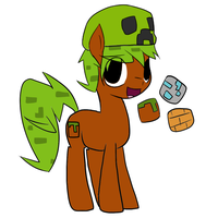 Minecraft Pony Auction (CLOSED) by 0ColorPaint0