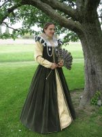 Renaissance Dress 2007 by La-Romanesque