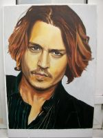 Johnny Depp by MythosRising
