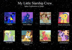 My Little Starship Crew by RogueHeart101