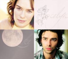 Jocelyn Fairchild and Luke Garroway. by bellskikis