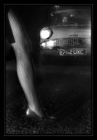 Film Noir - No.4 - The Leg by GryphonClaw