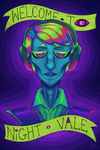 Welcome to Night Vale more saturated ver by Rhoda-the-Echidna