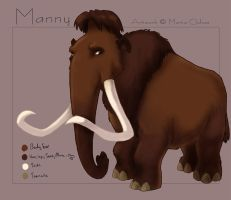 Ice Age - Manfred the Mammoth by agra19