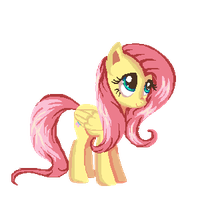 Fluttershy Coloring page by ClockupFlowers