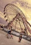 there is love in the Big Wheel by JuanChaves