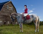 Environmental Portrait- Horse and Rider by AF-Photgraphy