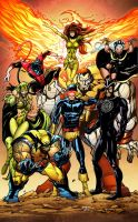 Classic X-men by Babisu colored by Dany-Morales