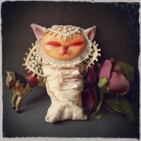 Newborn Gritter - Elizabethan Ooak baby monster by EnjoyPorno