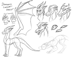 Dragon Species Reference by Spirit--Productions