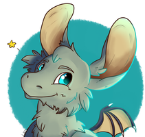 -COMMISSION- Ceibu Headshot by LeahFoxDen